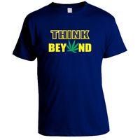 Think Beyond T-shirt, Men,  blue, l