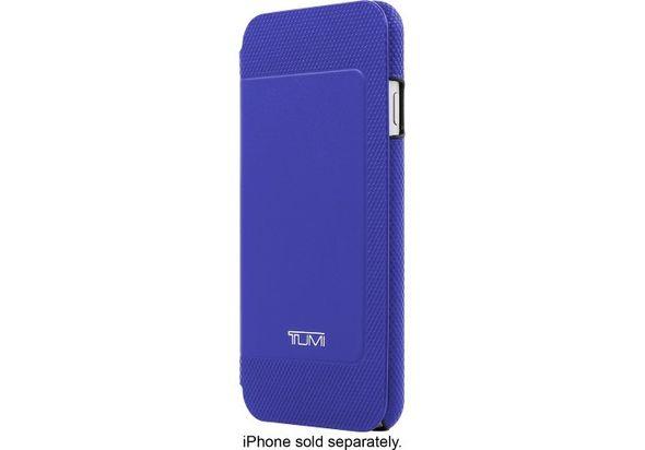 Tumi Folio Case for Apple iPhone 6 and 6s, Atlantic Blue