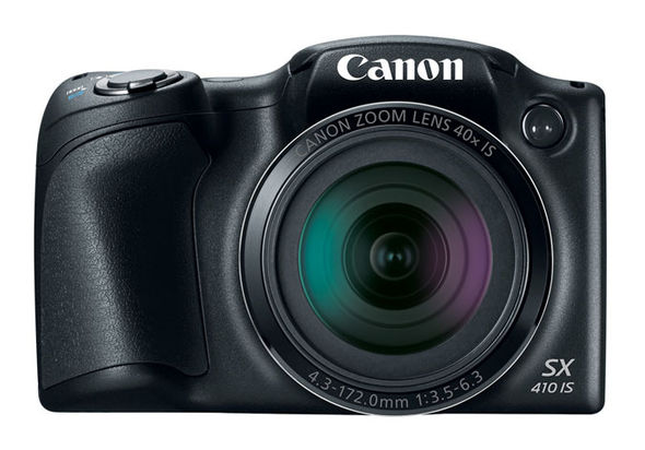 Canon PowerShot SX410 IS Digital Camera, Black