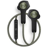 B&O PLAY by Bang & Olufsen Beoplay H5 Wireless Bluetooth Earphone Headphone, Moss Green