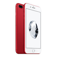 Apple iPhone 7 (PRODUCT) RED Plus, 128GB Smartphone LTE, Red