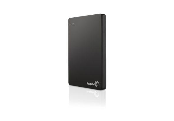 Seagate 1TB Backup Plus Slim Hard Disk,  black