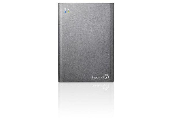 Seagate Wireless HDD Plus 2TB Hard Drive, Grey
