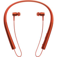 Sony In Wireless Bluetooth In-Ear Headphones, Cinnabar Red