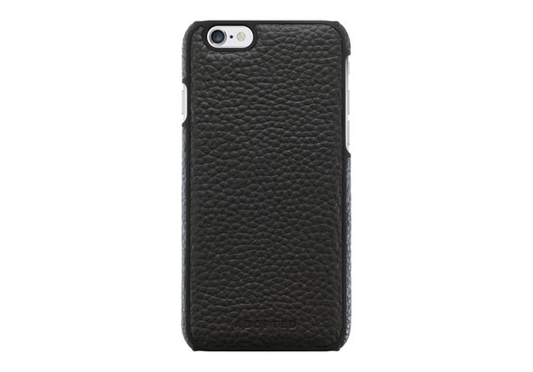 Adopted Leather Wrap Case for iPhone 6/6S, Black / Black