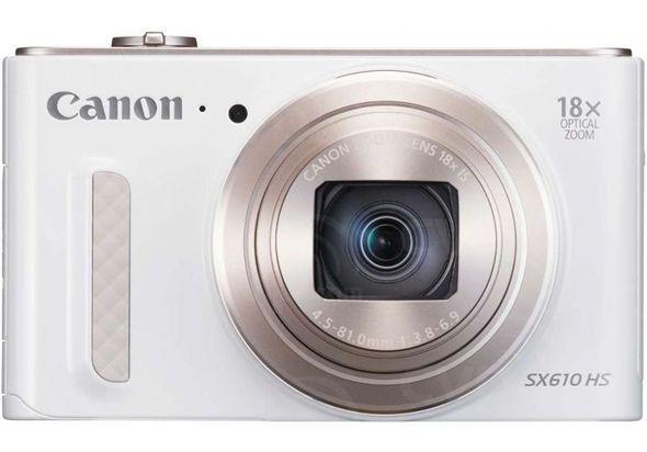 Canon PowerShot SX610 - 20.2 Megapixel, White,  white