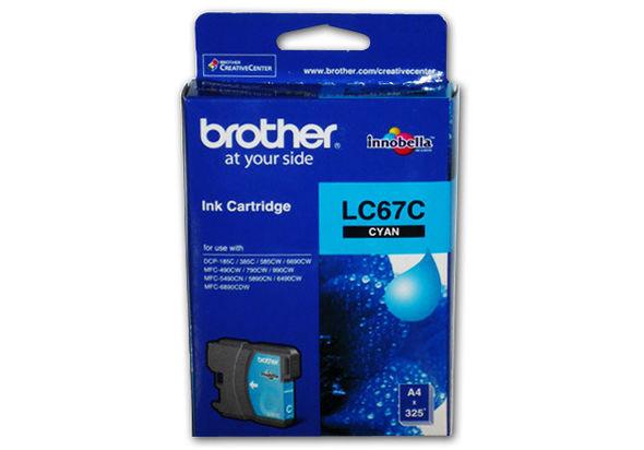 Brother LC67C Ink Cartridge CYAN