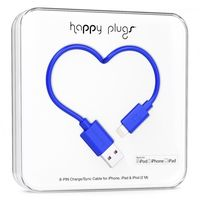 Happy Plugs Lightning charge/sync cable, Cobalt