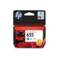 HP CZ110AE 655 Cyan Original Ink Advantage Cartridge