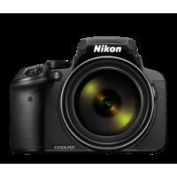 Nikon COOLPIX P900 Compact Camera, Black