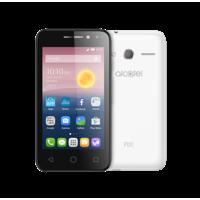 """Alcatel PIXI 4 8GB 5"""" Smartphone LTE, White"""