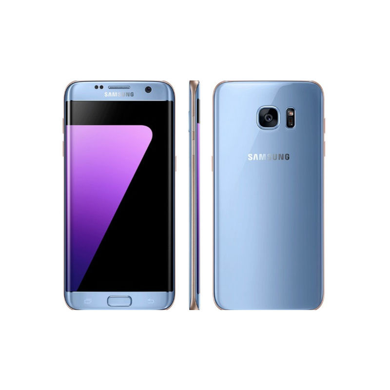 Samsung Galaxy S7 Edge Smartphone, Coral Blue