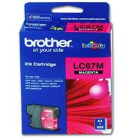 Brother LC67M Ink Cartridge MAGENTA