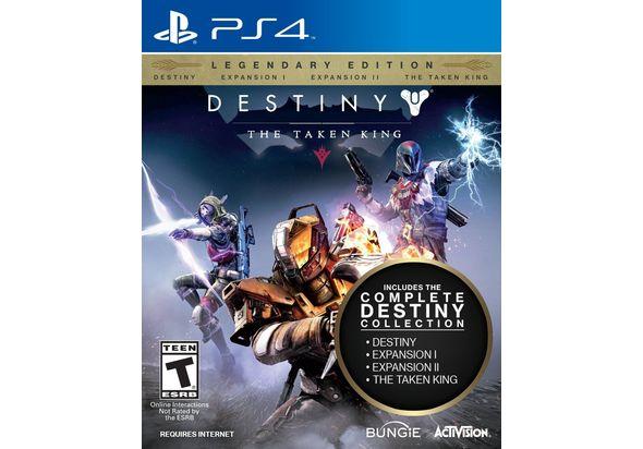 Destiny The Taken King Legendary Edition for PS4