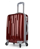 Ambest JET PC CABIN LUGGAGE 20 Inch BROWN