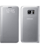 Samsung Galaxy S7 LED View Cover,  Silver