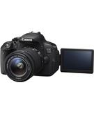 Canon EOS 700D, 18-55mm Lens,  Black