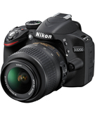 Nikon D3200 18-55mm Lens,  Black