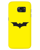 Stylizedd Samsung Galaxy S7 Edge Premium Slim Snap case cover Matte Finish - Iconic Bat