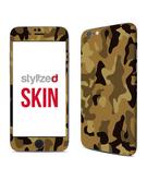 Stylizedd Premium Vinyl Skin Decal Body Wrap for Apple iPhone 6S - Camo Mini Desert
