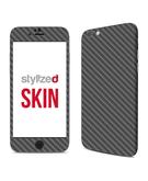 Stylizedd Premium Vinyl Skin Decal Body Wrap for Apple iPhone 6S - Carbon Fibre Anthracite