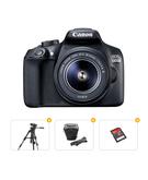 Canon EOS 1300D Lens Kit 18 - 55mm 18 MP DSLR Camera Bundle with Tripod+ Carrry Case+ Memory Card 16GB