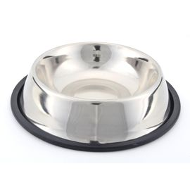 Kennel Non Topple Steel Feeding Bowl, 20 cms, assorted