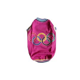 Zorba Designer Sports Tshirt for Toy Breed Dogs, pink, 10 inch