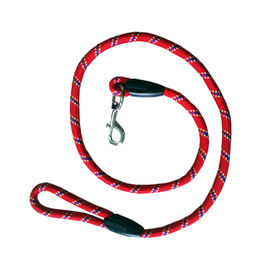 Super Dog Extra Thick Nylon Rope Lead, red, 50 inch