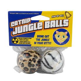 Petsport USA Catnip Jungle Balls for Cats, 2 inch