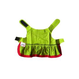 Zorba Designer Green Frock for Toy Breed Dogs, green, 10 inch