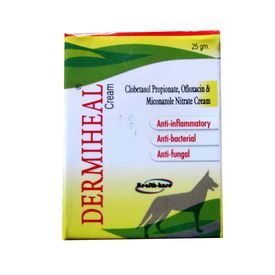 Dermiheal Multi Skin Ailments Cream for Dogs and Cats, 25 gms