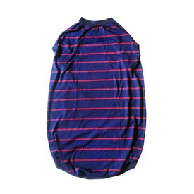 Kennel Striped High Quality Tshirt for Giant Dogs, navy blue, 34 inch