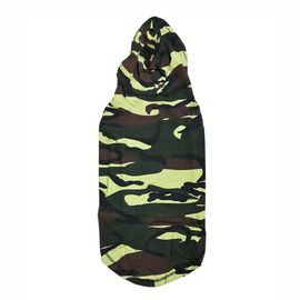 Zorba Designer Camouflaged Hoodie for Small Dogs, 16 inch