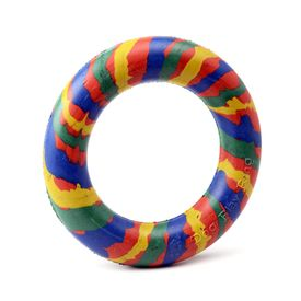 Kennel Solid Thick Rubber Play Ring for Small Dogs, 3 inch