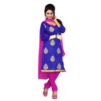 Blue Salwar Suit