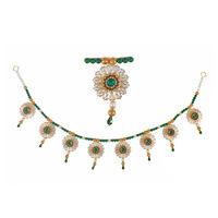Torans / Door Hanging/ Bandhanwar in Pearls and Green hangings