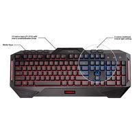Asus Cerberus 30500 Gaming Keyboard,  black