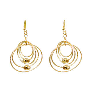 Round Multi-Rings Golden Fashion Dangler