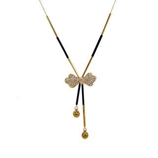Gorgeous Gold Tone Bow Design Fashion Pendant