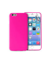 """PURO IPHONE 6 PLUS ULTRA-SLIM"""" 0.3"""" with Screen Protector included,  pink"""