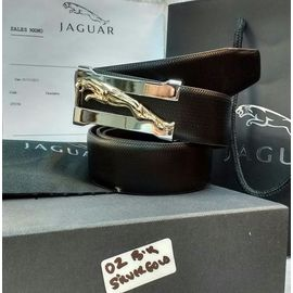 Stylish Jaguar Leather Casual Belt For Men