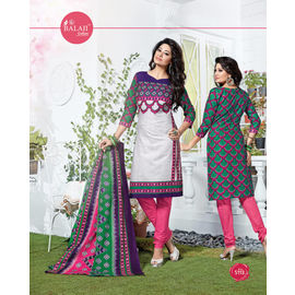 Cotton Suits - Fancy & Designer Party Wear Multicolor Churidar Salwar Suit
