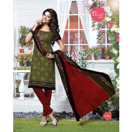 Pure Cotton Suits - Designer Daily/Casual Wear Multicolor Salwar Suit
