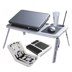 eTable - Foldable & Portable Laptop Stand/ Portable laptop table/ Laptop holder/ Bed table
