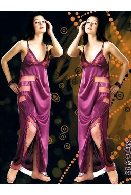Honeymoon nighty - Romantic sensations - JKHNS -1P- Style - 17, magenta