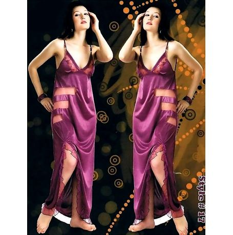 Honeymoon nighty - Romantic sensations - JKHNS -1P- Style - 17, purple