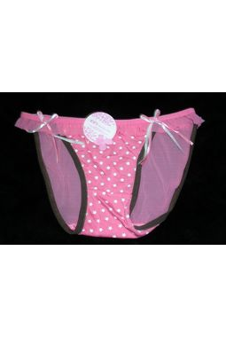 Premium Honeymoon panty - Front Hosiery Back Transparent panty - JKBLR-HoneyMoonPanty, babypink - mehandilining, 28 - 34