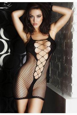 Fishnet See Through Lingerie - JKDLLC21344, black, free  30-34 bust  30-34 waist  30-34 hips , 1 piece lingerie