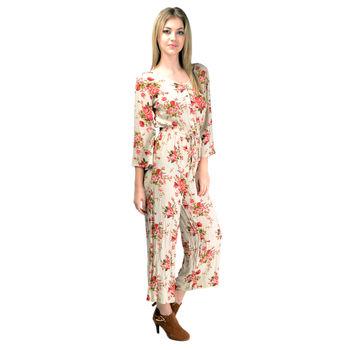Floral Jumpsuit OC8R15J31, xl